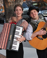 Family Band with Accordion Baby Costume
