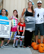 Family costume ideas - Family Game Night Costume