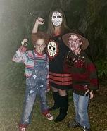 Family Horror Homemade Costume