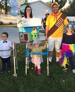 Family Up Homemade Costume