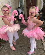 Fancy Flamingos Homemade Costume
