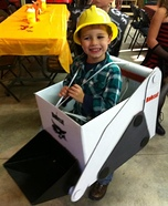 Farm Equipment Homemade Costume