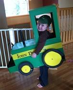 Farmer and his John Deere Homemade Costume