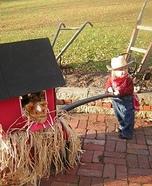 Farmer in the Dell Homemade Costume