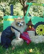 Farmer Pom Homemade Costume