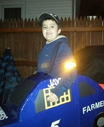 Farmers Insurance Race Car Homemade Costume