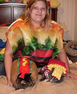 Fast Food on the Go Costume