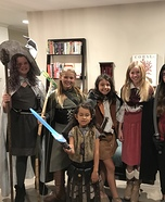 Female Fellowship Homemade Costume