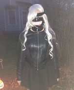 Female Ken Kaneki Homemade Costume