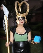 Female Loki: Goddess of Mischief Homemade Costume