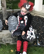 Female Pennywise Homemade Costume