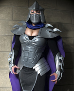Female Shredder Cosplay Costume