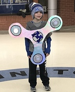 Fidget Spinner Homemade Costume