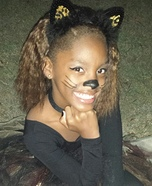 Fierce Kitty Homemade Costume