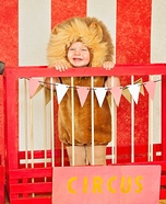 Fierce Lion Homemade Costume