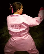 Fight Like a Girl Homemade Costume