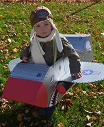 Fighter Pilot Baby Boy Homemade Costume
