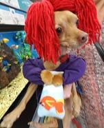Finding Nemo Darla Dog Homemade Costume