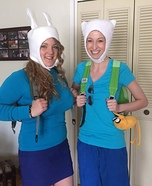 Finn and Fiona Homemade Costume