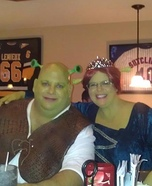 Fiona and Shrek Couple Costume