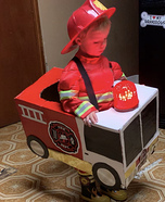 Fire Chief Lucas Homemade Costume