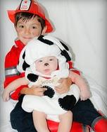 Fire Chief rescues the Dalmatian Costume