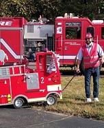 Fire Crew Homemade Costume