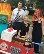 Fire Family Homemade Costume