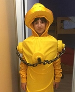 Fire Hydrant Homemade Costume