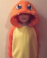 Fire Pokemon Charmander Homemade Costume