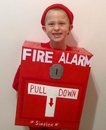 Firealarm Homemade Costume