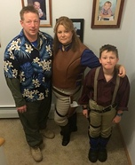 Firefly Family Homemade Costume
