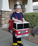 Fireman Cooper Homemade Costume