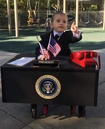 First Lady President of the United States Homemade Costume