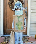 Fish the Boxtroll Homemade Costume