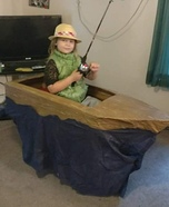 Fisherman in a Boat Homemade Costume