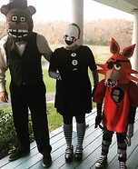 Five Nights at Freddy's Homemade Costume