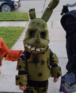 Five Nights at Freddy's Nightmare Bonnie Homemade Costume