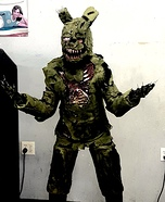 Five Nights at Freddy's Springtrap Homemade Costume
