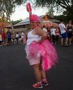 DIY Flamingo Costume for Women