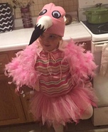 Flamingo Homemade Costume