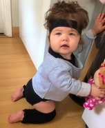 Flashdance Baby Homemade Costume