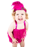 Flashy Flapper DIY Baby Costume