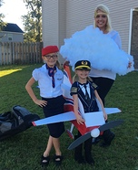 Flight Family Homemade Costume