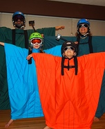 Flight Suit - Base Jumper Family Homemade Costume