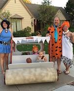 Flintstones Homemade Costume