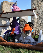 Flintstones Dog Homemade Costumes