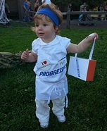 Progressive Insurance Flo Baby Costume