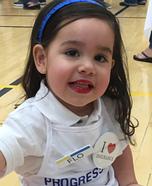 Toddler Flo from Progressive Costume