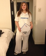 Flo from Progressive Insurance Homemade Costume